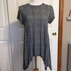Women's Asymmetrical Tee Size Large
